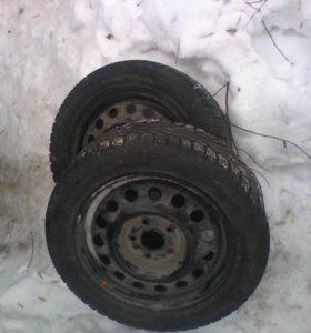Два колеса зима