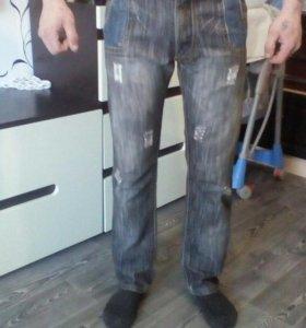 Жужские джинсы 86 см. в талии