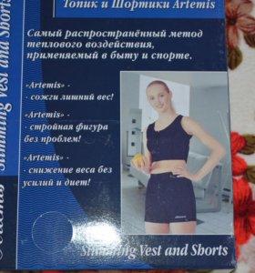 Топик и шорты artemis s-m новый