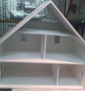 Кукольный дом из фанеры.