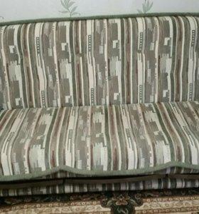 Мягкая мебель диван 2 кресла