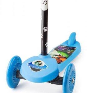 Трехколёсный самокат Cosmic Zoo Scooter