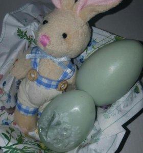 Мыло в форме пасхального яйца