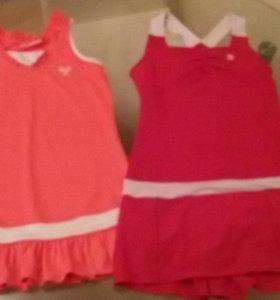 теннис платья костюмы девочек 6-11лет Wilson Fila