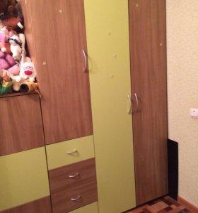 Шкафы для детской комнаты 4 шт.
