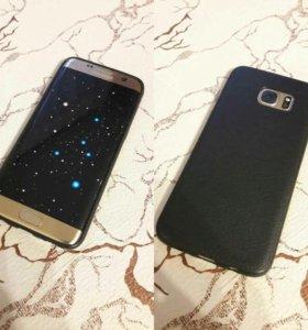 Стильный чехол Samsung Galaxy S7 edge