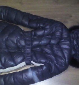 Куртка зимняя для девочки, рост 140-155