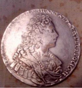Монета 1728год