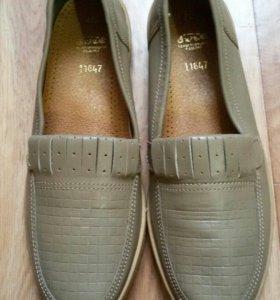 Туфли 39 размер кожа. Новые.