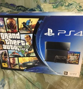 Sony PlayStation 4 / 500 gb + GTA V