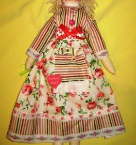 Очень красивая кукла Тильда