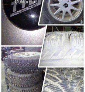 Комплект зимних литых колес