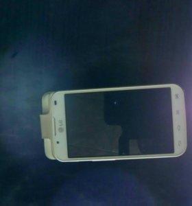 Телефон LG-P715 рабочий,состояние нового