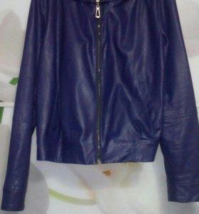 Куртка эко кожа б/у