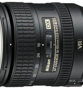 Объектив системы Nikon Af-s 16-85 mm f/3,5-5,6 G
