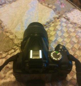 Зеркальная камера nikon d3000+ kit объектив