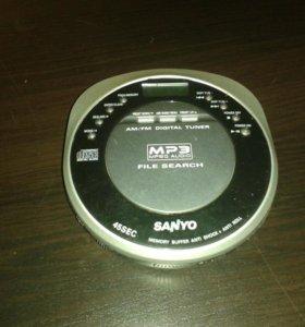 Дисковой МП3 плеер с радио