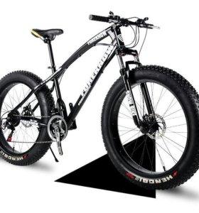 Новые велосипеды фэтбайки (Fatbike)