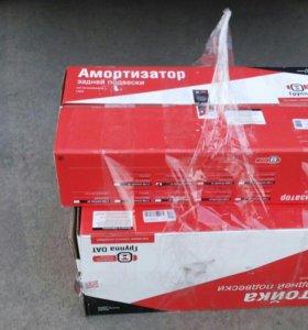Стойки передние и задние амортизаторы на приору