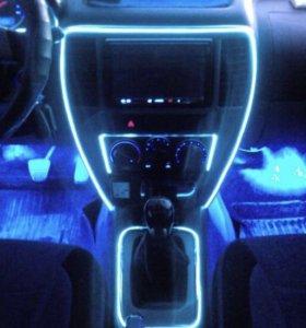 Подсветка для авто салона