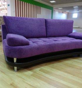Стильный новый диван-кровать еврокнижка шагающая!