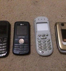 Телефоны на запчасти или под ремонт