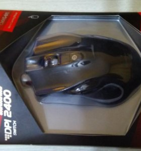 Мышь проводная Crown Gaming CMXG-615