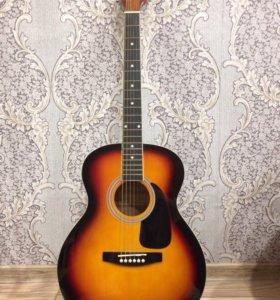 Продам гитару Colombo lf-4000sb+чехол. 4500