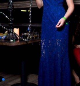 Шикарное синие кружевное платье от Lusio!💎🔝💃🏻