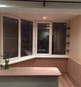 Остекление и отделка балконов ,лоджий.Окна.Откосы.