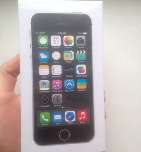 iPhone 5s 32gb чёрный (Space Gray)