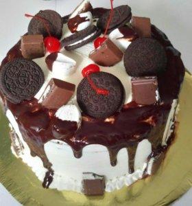 Тортики пирожные капкейки на заказ