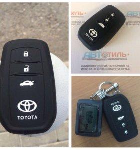 Силиконовый чехол Toyota