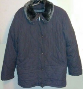 Куртка демисезонная с тёплой подстёжкой для зимы..