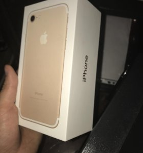 Iphone 7 gold 32 g