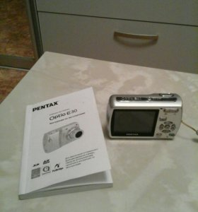 цифровая фотокамера Oрtio E30 PENTAX + фотосумка