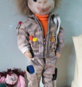 Кукла-электрик ручная работа