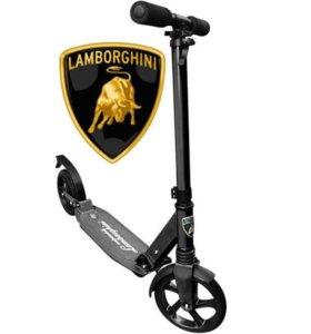 Самокат Lamborghini чёрный