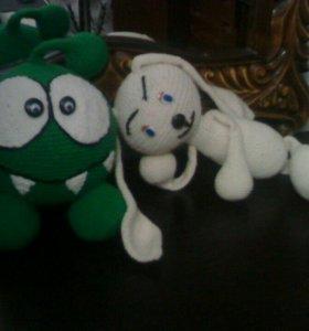 Амигуруми,игрушка вязаная