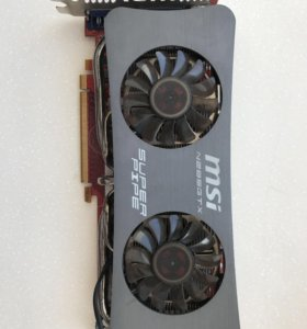 Видеокарта MSI N285GTX