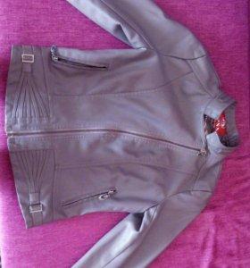 Косуха.кожанная куртка