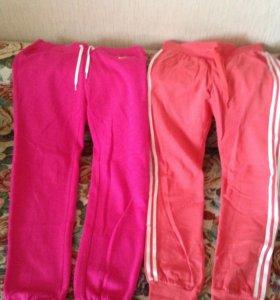 Утеплённые спортивные штаны Nike и Adidas Оригинал