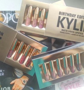 Birthday edition Kylie набор матовых помад