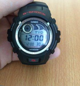 Часы G-shock Casio wr200m водонепроницаемые.