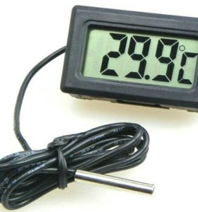 Цифровой термометр с жидкокристаллическим экраном.