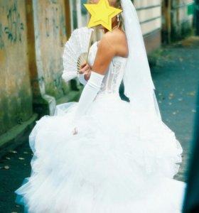 Свадебное платье р 42-44