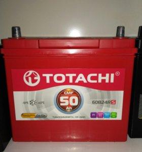 Авто аккумуляторы Totachi новые