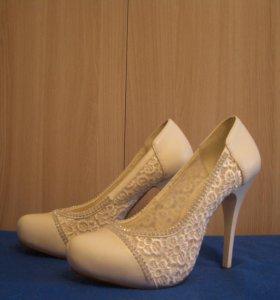 Туфли нат.кожа, 35-36р.