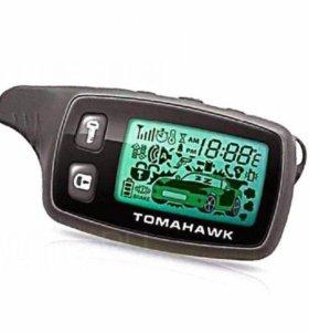 Новый брелок Tomahawk 9010 (Томагавк). Привязка.