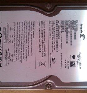 Жесткий диск Barracuda 640 Gbytes